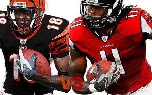 aj green v julio jones 2