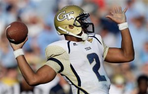 Georgia Tech QB Vad Lee Picture from http://collegefootball.ap.org/content/vad-lee-0