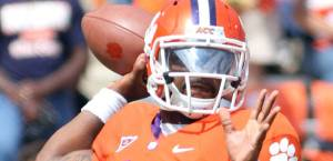 Clemson QB Tajh Boyd led his Tigers to an impressive win over SEC power Georgia. Picture from msn.foxsports.com