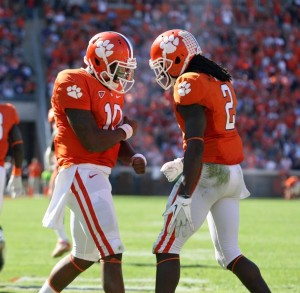 Boyd and Watkins will again dominate this week. Picture from www.orangeandwhite.com