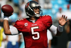 Josh Freeman will look to erase the critics and prove his worth as a franchise QB. Picture from borntocompete.com