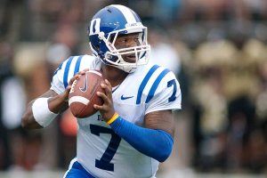 Duke QB Anthony Boone looks to lead Duke to a 2-0 start. Picture from espn.go.com