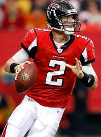 Matt Ryan will look to guide the Falcons to the Super Bowl. Picture from www.tumblr.com